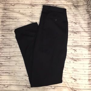 Burberry Dress Pants 33 W L 33 Navy Virgin Wool